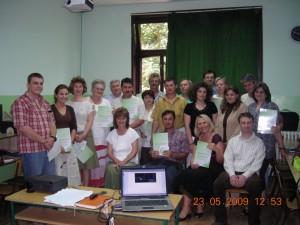Interaktív tábla 2009 - Topolya